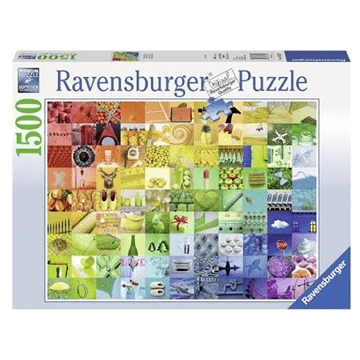 99 Beautiful Colours 1500 Piece Puzzle by Ravensburger