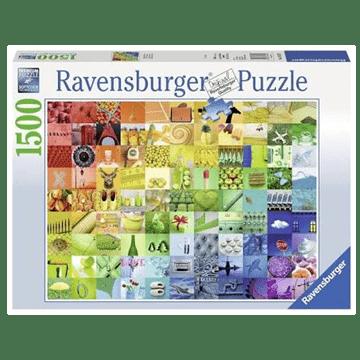 99 Colours 1500 Piece Puzzle by Ravensburger