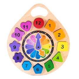 Clock Puzzle by Kiddie Connect