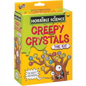 Creepy Crystals by Horrible Science