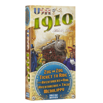 1910 Ticket To Ride USA Expansion