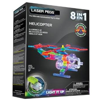 8 in 1 Helicopter by Laser Pegs