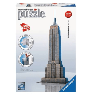 3D Empire State Building Puzzle by Ravensburger