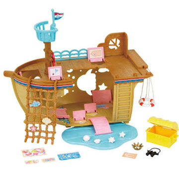 Adventure Treasure Ship by Sylvanian Families