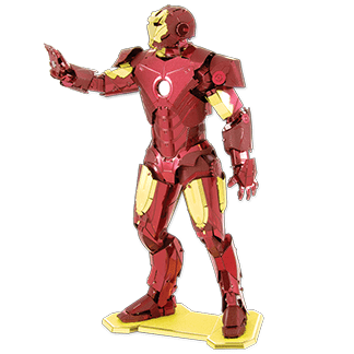 AVENGERS Iron Man by Metal Earth
