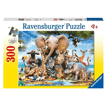 African Friends 300 Piece Puzzle by Ravensburger
