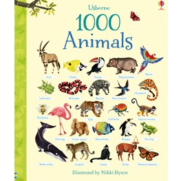 1000 Animals by Usbourne