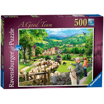 A Good Team 500 Piece Puzzle by Ravensburger