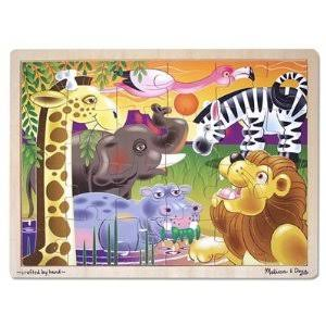 24 Piece Wooden Puzzle African Plains by Melissa and Doug