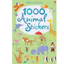 1000 Animal Stickers by Usborne