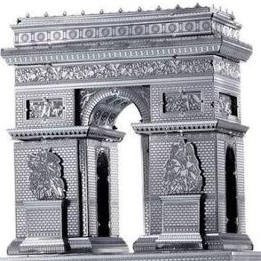 Arc De Triomphe by Metal Earth
