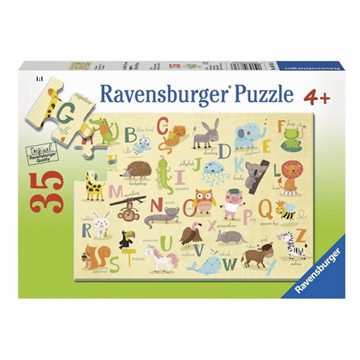 A-Z Animals 35 Piece Puzzle by Ravensburger
