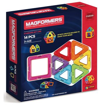 14 Piece Set by Magformers