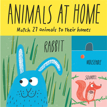 Animals at Home Matching and Memory Game