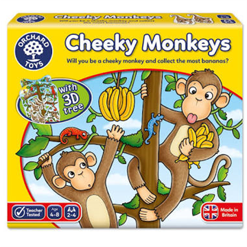 Cheeky Monkeys by Orchard Toys