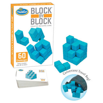 Block by Block Game by Thinkfun