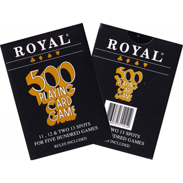 500 Royal Playing Cards