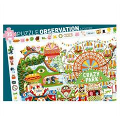 Observation Crazy Park 35 Piece Puzzle by Djeco