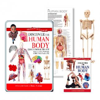 Science & Nature Discover Human Body Educational Tin Set