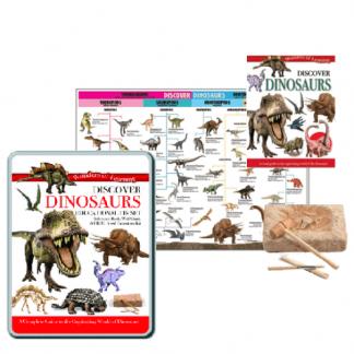 Science & Nature Discover Dinosaurs Educational Tin Set
