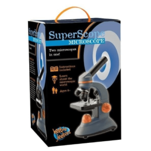 Science & Nature SuperScope Microscope by Heebie Jeebies