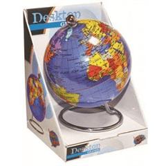 Science & Nature World Globe Desktop Blue 10cm by Heebie Jeebies