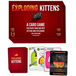 Family Games Exploding Kittens