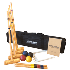 Outdoor Games Croquet Family (4 mallets) by Planet Finska