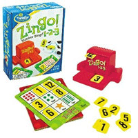 Educational Games Zingo 123 by Thinkfun