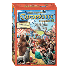 Strategy Games Carcassonne Under The Big Top Expansion #10