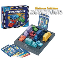 Puzzle Games & 1 Player Rush Hour Deluxe Edition by Thinkfun