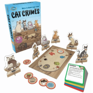 Puzzle Games & 1 Player Cat Crimes by Thinkfun
