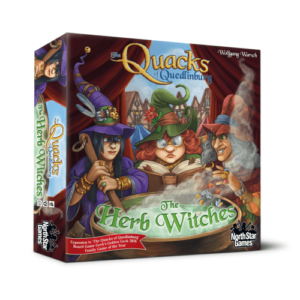Strategy Games The Quacks of Quedlinburg The Herb Witches Expansion