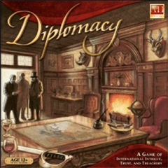Strategy Games Diplomacy by Avalon Hill