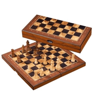 Chess Chess Set Wood Folding 16 inch 40cm by Philos