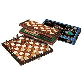 Chess Chess Set Wood Folding 11 Inch 27cm by Philos