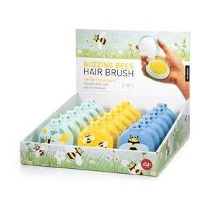 Beauty Accessories Buzzing Bees Hair Brush Mirror by IS Gift